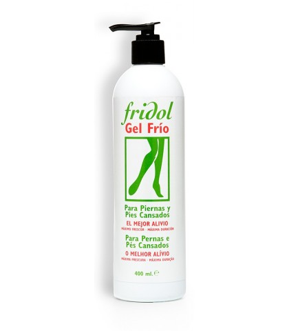 FRIDOL GEL FRIO PARA PIERNAS Y PIES 400ml.