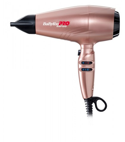 SECADOR BABYLISS RAPIDO CHAMPAGNE ROSE
