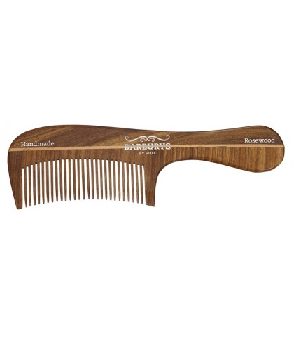 COMB OF WOOD ROSEWOOD BARBURYS No. 6