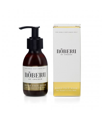 NOBERU GEL FACIAL CLEANSER AMBER LIME 125ml.