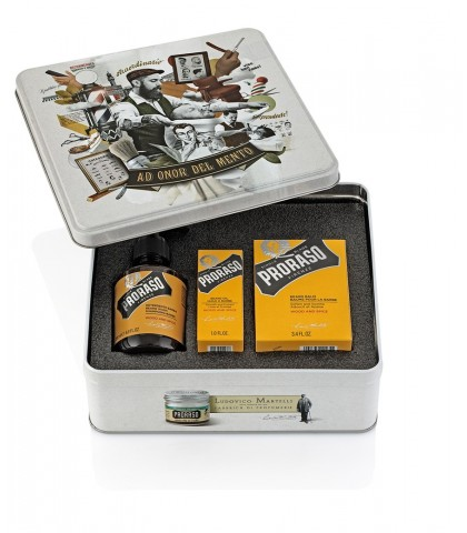 PRORASO GIFT CASE FOR BEARD LINE WOODY