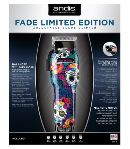 Máquina ANDIS FADE LIMITED EDITION