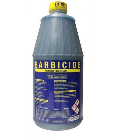 BARBICIDE LIQUIDO DESINFECTANTE 480ml.
