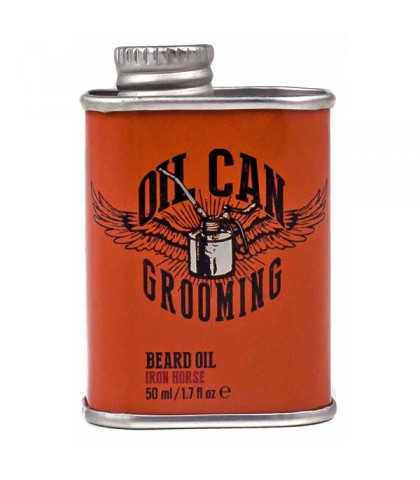 BEARD OIL IRON HORSE OIL CAN GROOMING