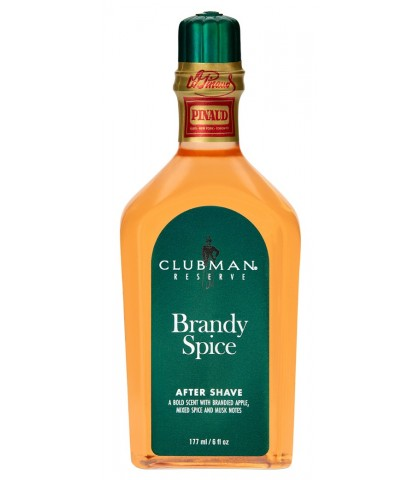 AFTER SHAVE LOTION BRANDY SPICE CLUBMAN PINAUD 177ml.