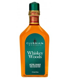 AFTER SHAVE LOTION WHISKEY WOODS CLUBMAN PINAUD 177ml.