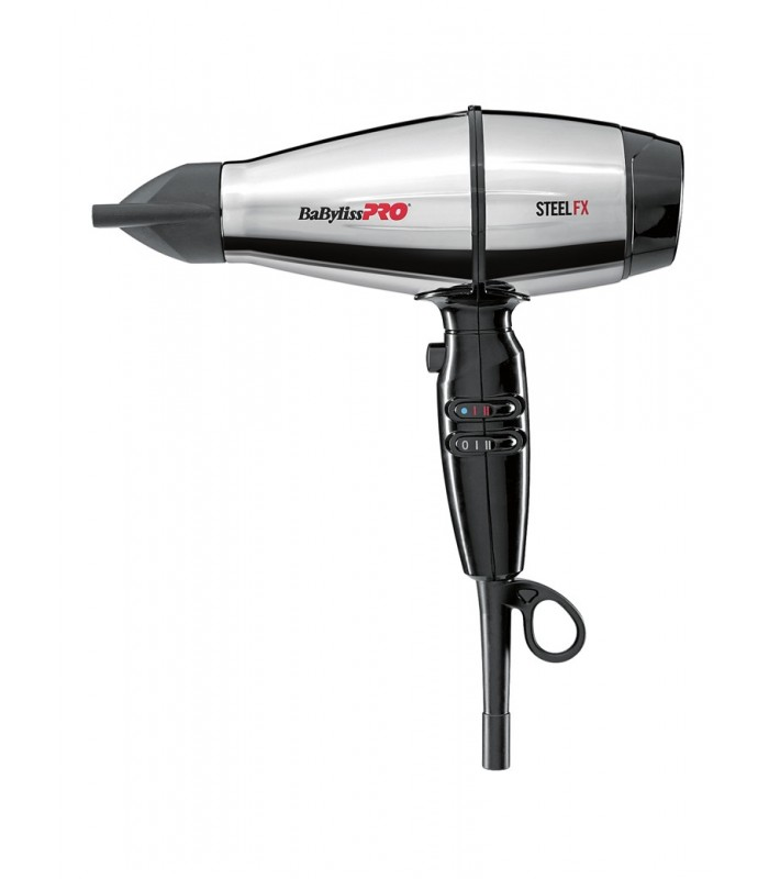 Hair Dryer Babyliss Pro Steel Fx Ionic Stainless Steel Ferrari Engine