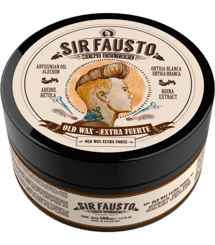 SIR FAUSTO OLD WAX EXTRA FUERTE 100ml.