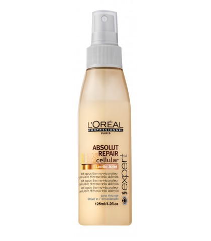 L'OREAL ADSOLUT REPAIR LEITE SPRAY REPARADOR de 150 ml.