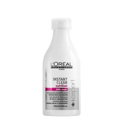 L'OREAL INSTANT CLEAR CHAMPU 250ML.