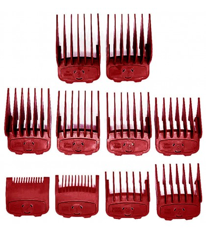 PEINE - CALCER PACK 10 uds. MAGNETICOS RED