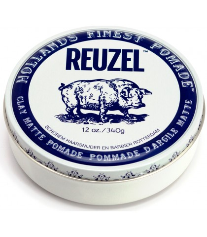 REUZEL CLAY MATTE POMADE WATER SOLUBLE 340gr
