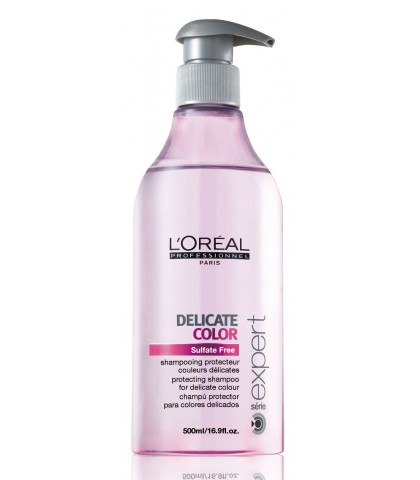 L'OREAL DELICATE COLOR SHAMPOO 500ml.
