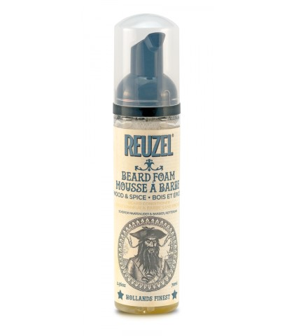 REUZEL BEARD FOAM WOOD & SPICE 70ml.