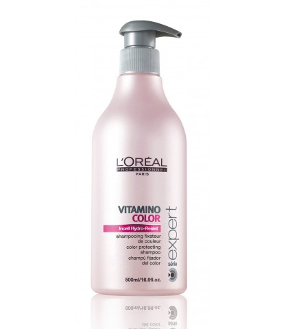 L'OREAL VITAMINO COLOR SHAMPOO 500ml.