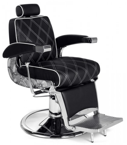 SILLON HUGO BARBERO NEGRO