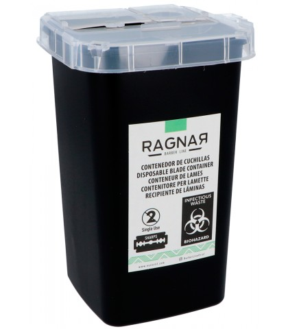 CONTAINER FOR BLADES USED