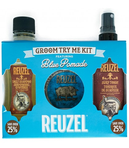 REUZE BLUE STRONG HOLD WATER SOLUBLE 35gr KIT