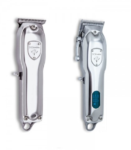 Pack 2 Claveles Silver + Trimmer