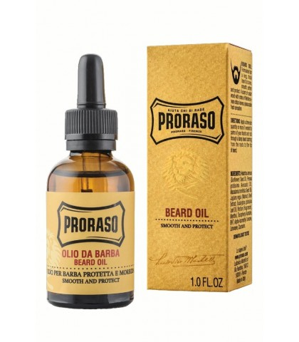 PRORASO OIL FOR BEARD WOODY FRAGRANCE 30ml.