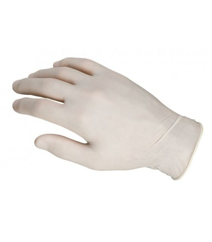 GLOVES LATEX SIZE LARGE
