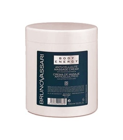 BODY ENERGY ANTICELLULITE MASSAGE CREAM 1000ml. BRUNO VASSARI