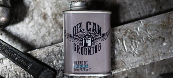 blue collar oil can